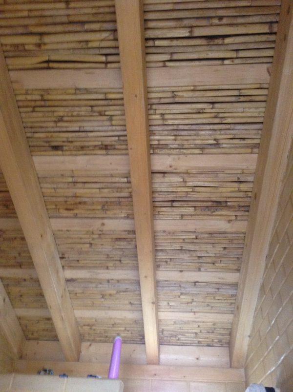 local reed & wood ceiling, jp bernardino construçôes ecológicas, Cercal, Portugal